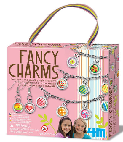 Make Your own Fancy Charms - Bracelet and Earrings