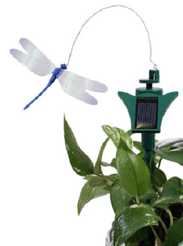 Solar Powered DragonFly - Dancing Garden Ornament