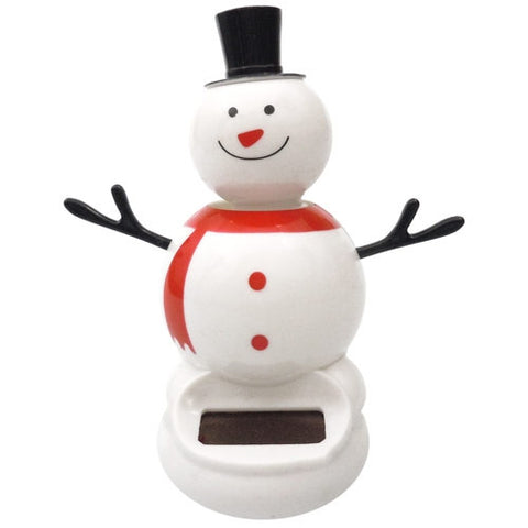 Solar Powered Dancing Snowman