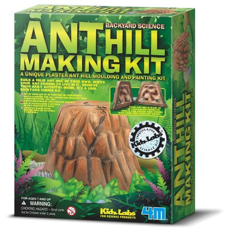 Backyard Science Ant Hill Making Kit from 4M and Kidz Labs