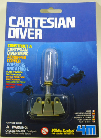 Cartesian Diver; 4M Science Activity Kit