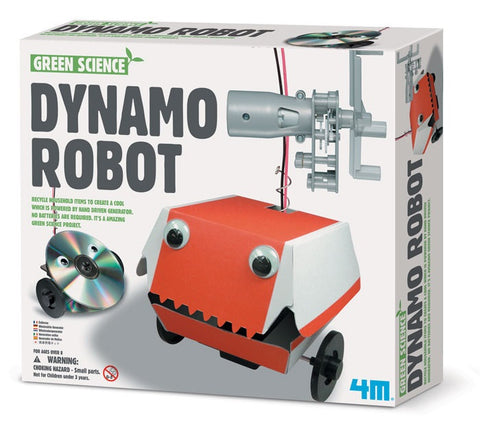 Dynamo Robot 4M Kit - A Robot That Needs No Batteries