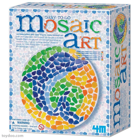 Easy To Do Mosaic Art Dolphin 4M Art / Craft Kit by Toysmith