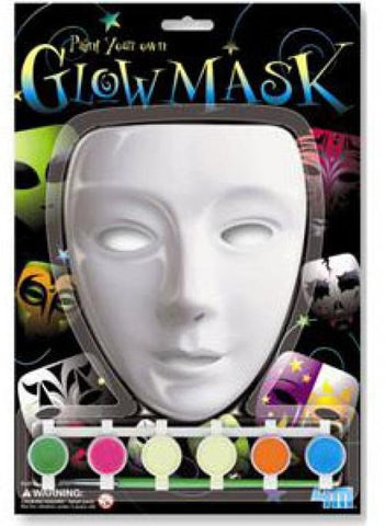 Paint Your Own GLOW Mask a 4M Kit from Toysmith