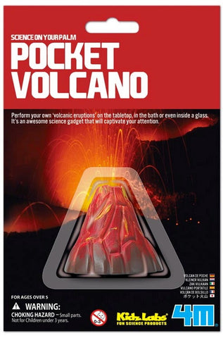 Pocket Volcano Making Toy by 4M
