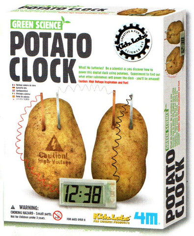 Potato Clock - Green Science Electrochemical Cell by 4M