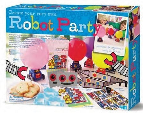 Create Your Own Robot Party 4M Kit