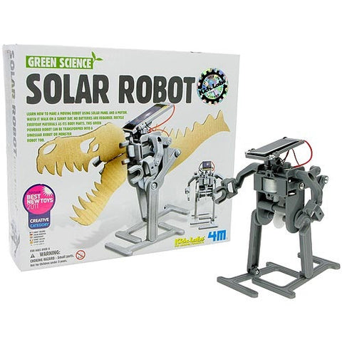 Solar Robot- Kidz Labs 4M Green Science Kit