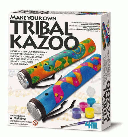Build a Kazoo Musical Craft Kit Make 4M