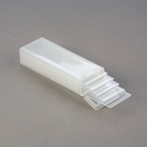 Plastic Slide Mailer - 5 Slide Capacity Shipping Container - Pk of 10