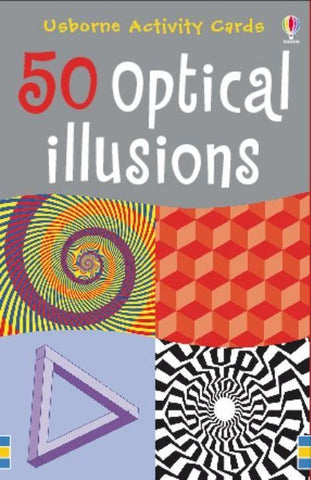 Usborne Books: 50 OPTICAL ILLUSIONS Activity Cards