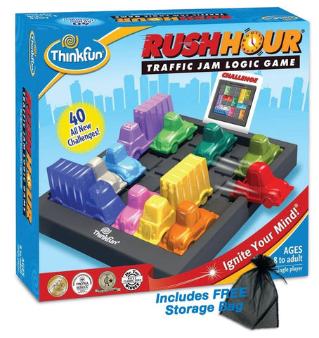 Rush Hour Traffic Jam Logic Game - ThinkFun Toy