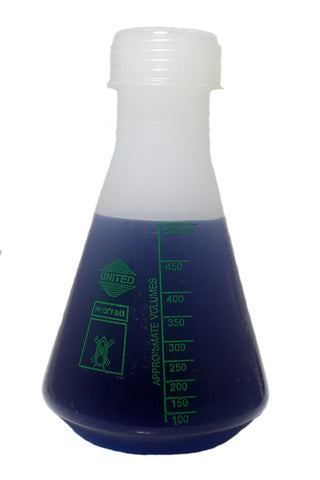 Erlenmeyer Flask: 500mL Polypropylene Plastic