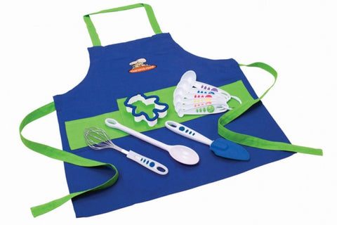 11 Piece Boy's Chef Kit - Cooking Supplies - Curious Chef