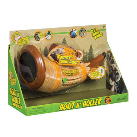 Hoot N' Holler Animal Caller by Toysmith Battery Operated Animal Sounds