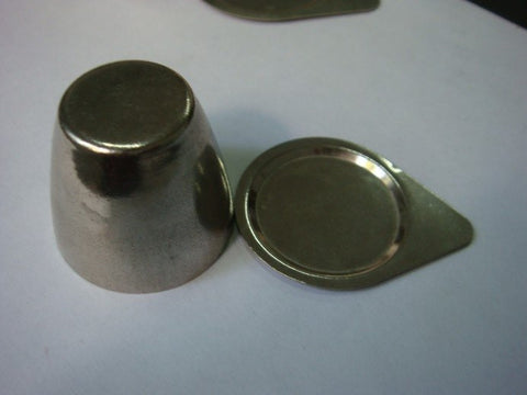 50ml Nickel Crucible with Lid