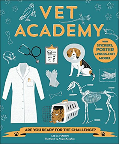 Vet Academy Activity Book Paperback by Kane Miller