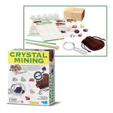 Crystal Mining Excavation Kit Toy 4M