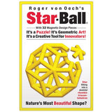 Roger von Oech's Star-Ball - 32 Piece Yellow Magnetic Desktop Toy