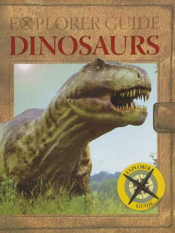 Dinosaurs Explorer Guide Pop-Up Book - Fun Facts & Trivia for Kids