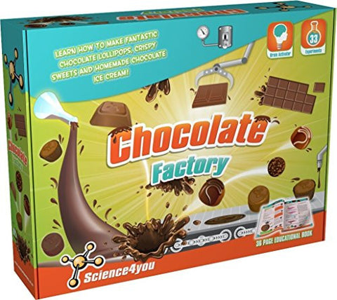 Chocolate Factory Science Experiment Kit by Science4You