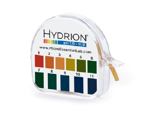 pH Hydrion Paper Single Roll  Range 1.0-11.0