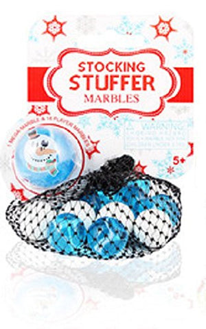 Winter Holiday Mibster Net Set Snowman 19 Pc w/Bonus Display Ring