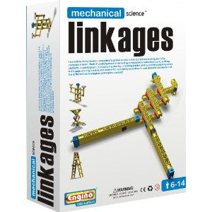 Engino Mechanical Science Building Kit: LINKAGES Education Toy