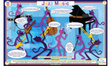 Jazz Music Activity Placemat by Tot Talk
