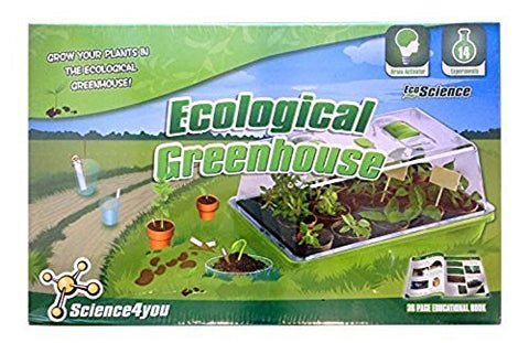 Ecological Greenhouse Science Experiment Kit by Science4You