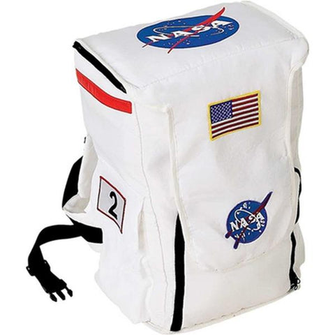 Aeromax Jr. Astronaut Backpack - White