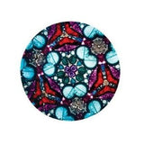 Brewster's Classic Optical Kaleidoscope: Blue Marbling w Black Trim
