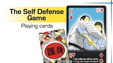 Self Defense Game Playing Cards 52 Card Deck