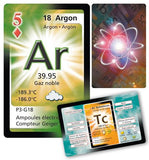 Double Deck Playing Cards Featuring The Periodic Table (Double Deck)(French Edition)