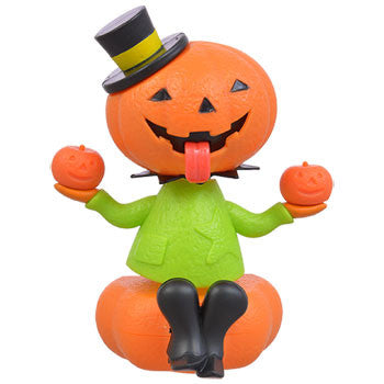 Solar Powered Dancing Halloween Pumpkin Man