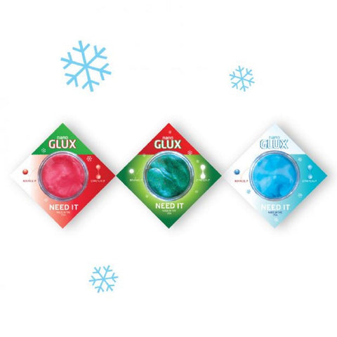 NanoGlux Antarctic Set of 3 Festive Putty by Copernicus
