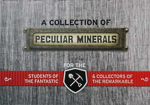 Cabinet of Curiosities - A Collection of Peculiar Minerals by Copernicus Toys