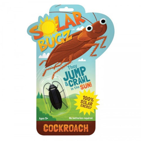 Solar Bugz Critters - Cockroach Solar Powered Bug by Thumbs Up!