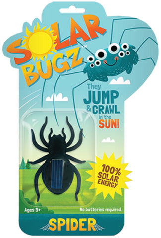 Solar Bugz Critters - Spider Solar Powered Bug by Thumbs Up!