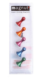 Super Strong Colorful Anodized Magnutz Set of 5 Magnets