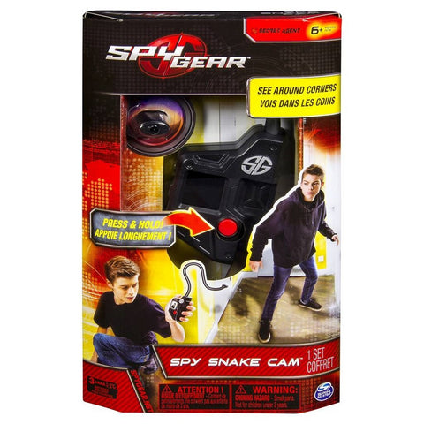 Spy Gear Secret Agent Spy Snake Cam