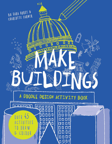 Make Buildings: A Doodle Design Activity Paperback Book by Kane Miller