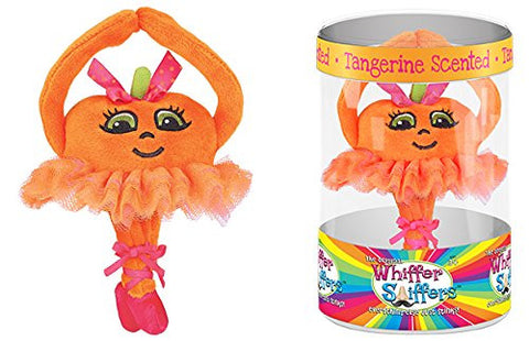 Whiffer Sniffers Tangerina Ballerina - Scented Plush Backpack Clip