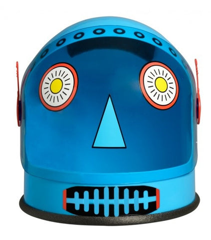 Robot Youth Helmet with Moving Visor by Aeromax