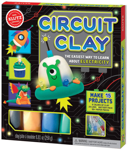 Circuit Clay Activity Book - The Easiest Way to Learn About Electricity