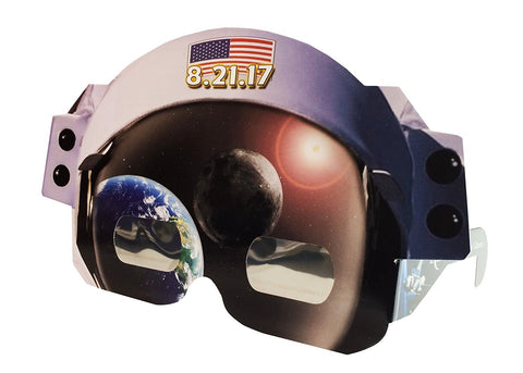 Astronaut Helmet Wacky Eclipse Glasses, by American Paper Optics - Pack of 4 Eclipsers