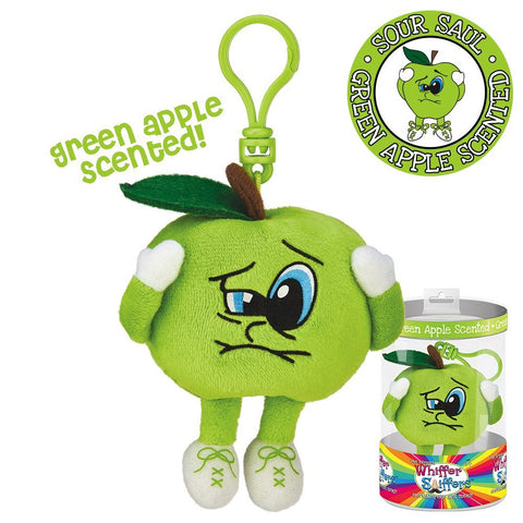 Sour Saul Backpack Clip - Green Apple Scented Whiffer Sniffer