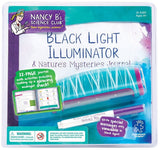Nancy B's Science Club Black Light Illuminator w/Invisible Ink Pen & 22 Page Activity Journal