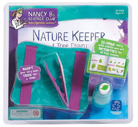 Nancy B's Science Club Nature Keeper & Flower Press w/22 Page Tree Diary