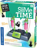 Geek & Co Science Project Kit - Slime Time Electrochemistry by Thames & Kosmos